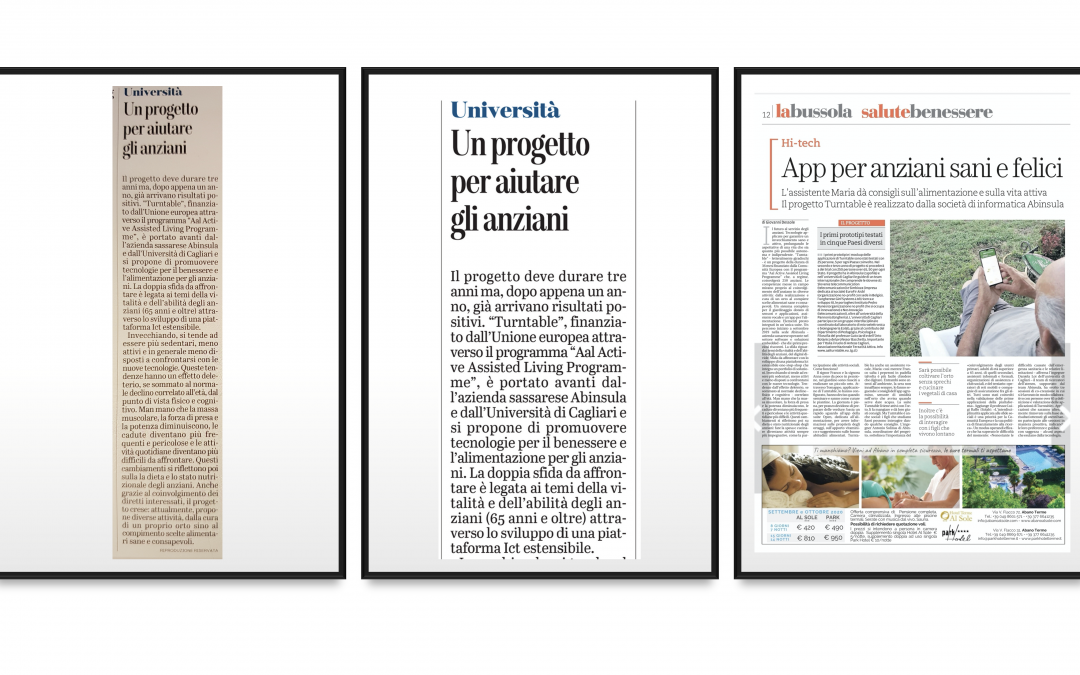 Abinsula e Università di Cagliari alla guida del progetto internazionale – TURNTABLE